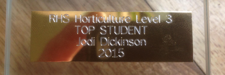 award winning gardener truro