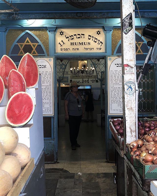This place is called Hummus Temple (Humus HaCarmel). It must be the spot. The entranceway is like that of synagogue, Judaic texts lining the walls, a Torah hanging on the wall. A secret-ish restaurant in Tel Aviv if you know where to look.✌🏼 . . . . #eeeeeats #eater #hummus #telaviv #darlingdaily #israel #foodblogger #fortheloveoffood #lovefood #beautifulcuisines #jerusalem_city #dametravelerfoodie #eatfamous #foodbloggers #flashesofdelight #livethelittlethings #nothingisordinary #spoonfeed #foodie #traveldeeper #culturetrip #gglocalgems #onthetable @onthetable_project @dametravelerfoodie @culturetripfood @bestfood_aroundtheworld #prettylittletrips #mydomainetravels @purewowtravel @vinepair #vinepair @frommers @dametraveler #lpfood #jaffa #pita @visit_israel #telavivyafo
