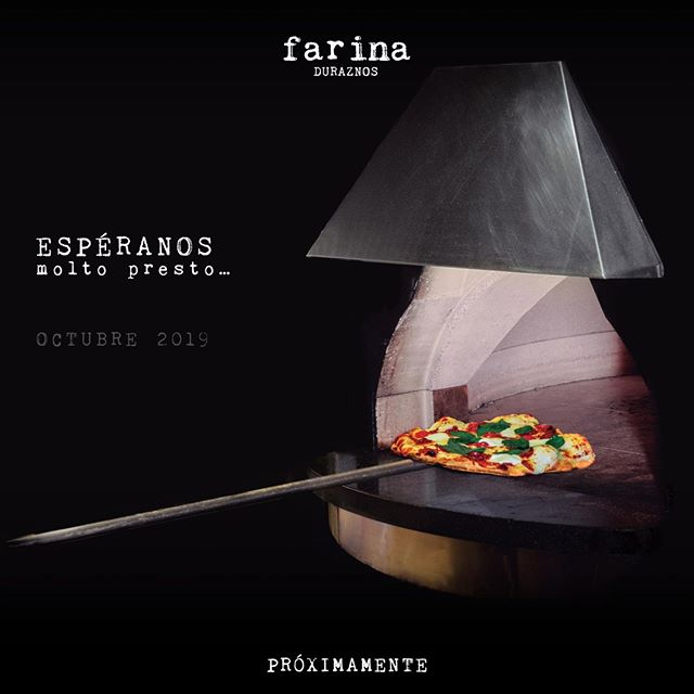 Espéranos, molto presto…  #Proximamente #FarinaMX #CucinaItaliana #TengoLaVidaQueMeGusta