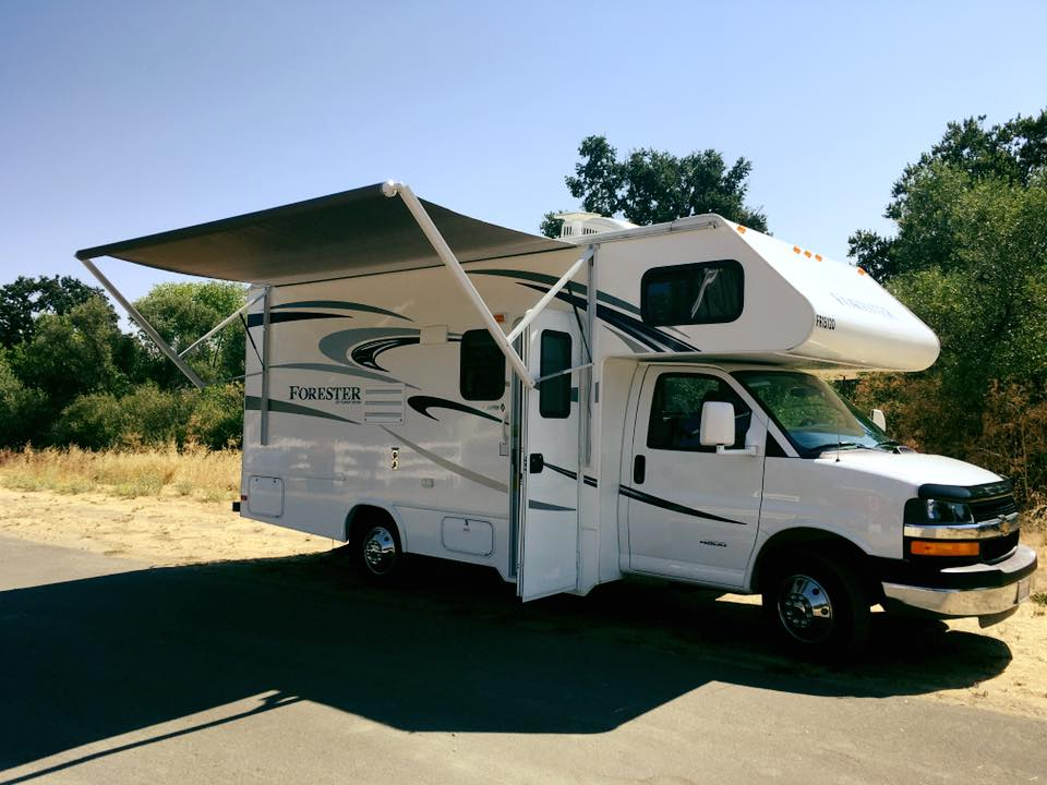 2016 Forester - This is our 22ft motorhome. It can accommodate 5 people and is fully self contained Three night minimum is required for this unit.. 100 mile per day allowance, $.35 per mile once allowance has been met. We require to provide their own insurance. MDA Insurance offers coverage for $21 per day.$150 per night (October-March)$175 per night (April-September)