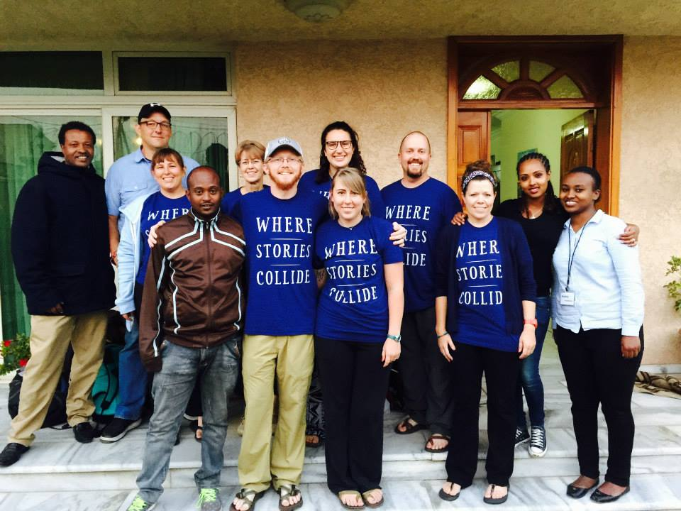 Our team getting ready to leave on our last day in Ethiopia, our second trip.