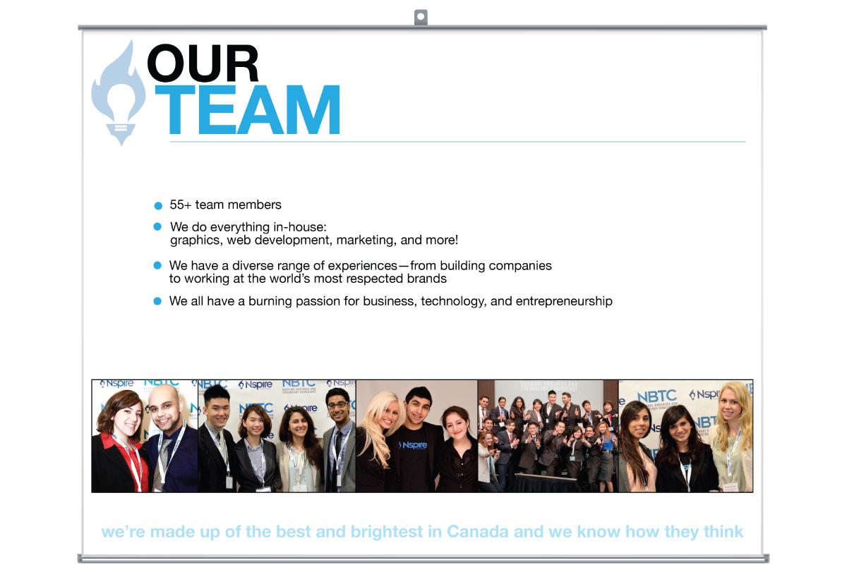 Nspire Sponsorship Package slides (2012-2013)