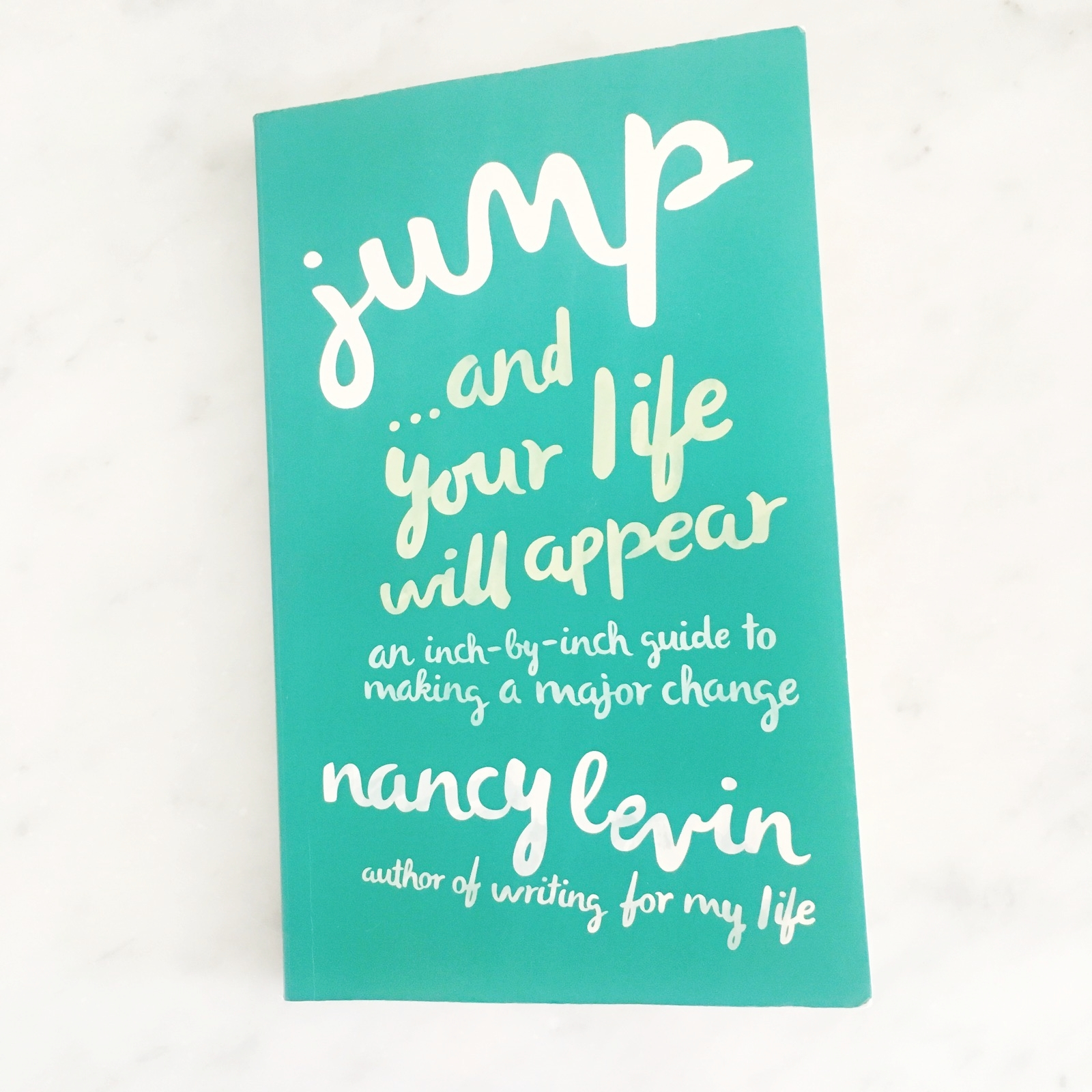 I can't recommend Nancy's book enough if you're going through a transition in your life, or just thinking about making a change, big or small. It's full of her wisdom and lessons, along with tons of stories of people who've made major changes in their lives too. I found it at a time when I was in need of just this kind of guidance and hope you'll check it out if you're in need of a little guidance too.Click the button below to take a look! -