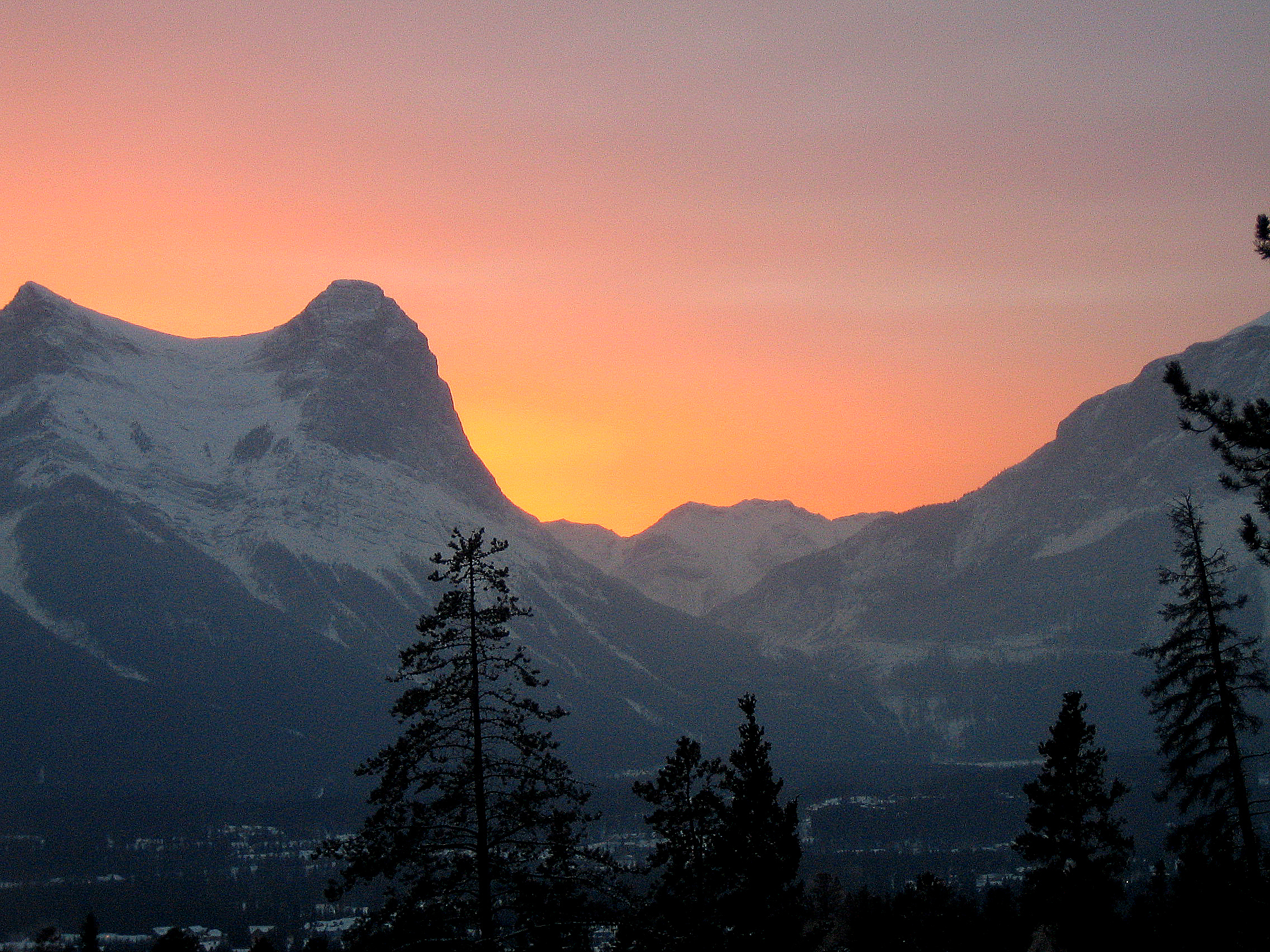 Sunset Canmore