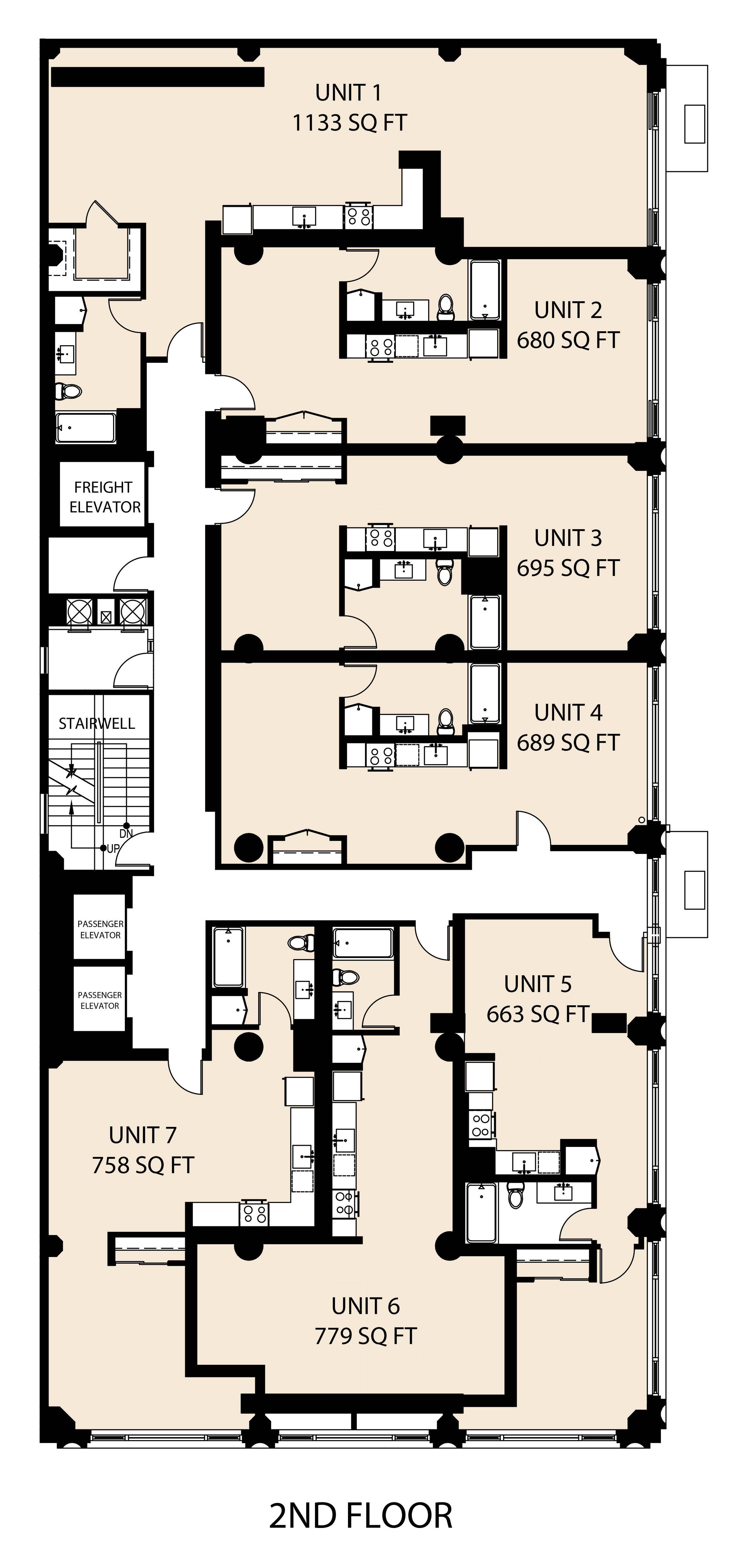 Level 2 Floorplans