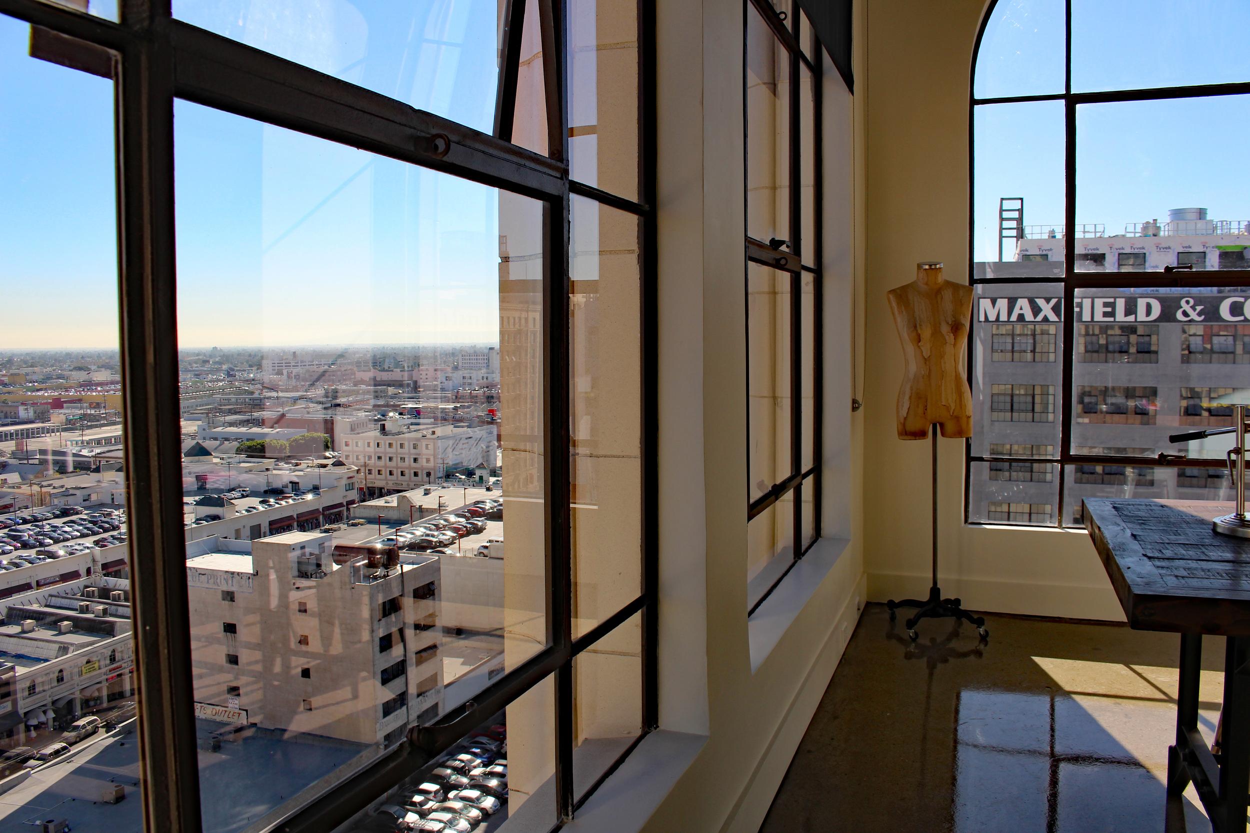 Incredible view at Garment Lofts