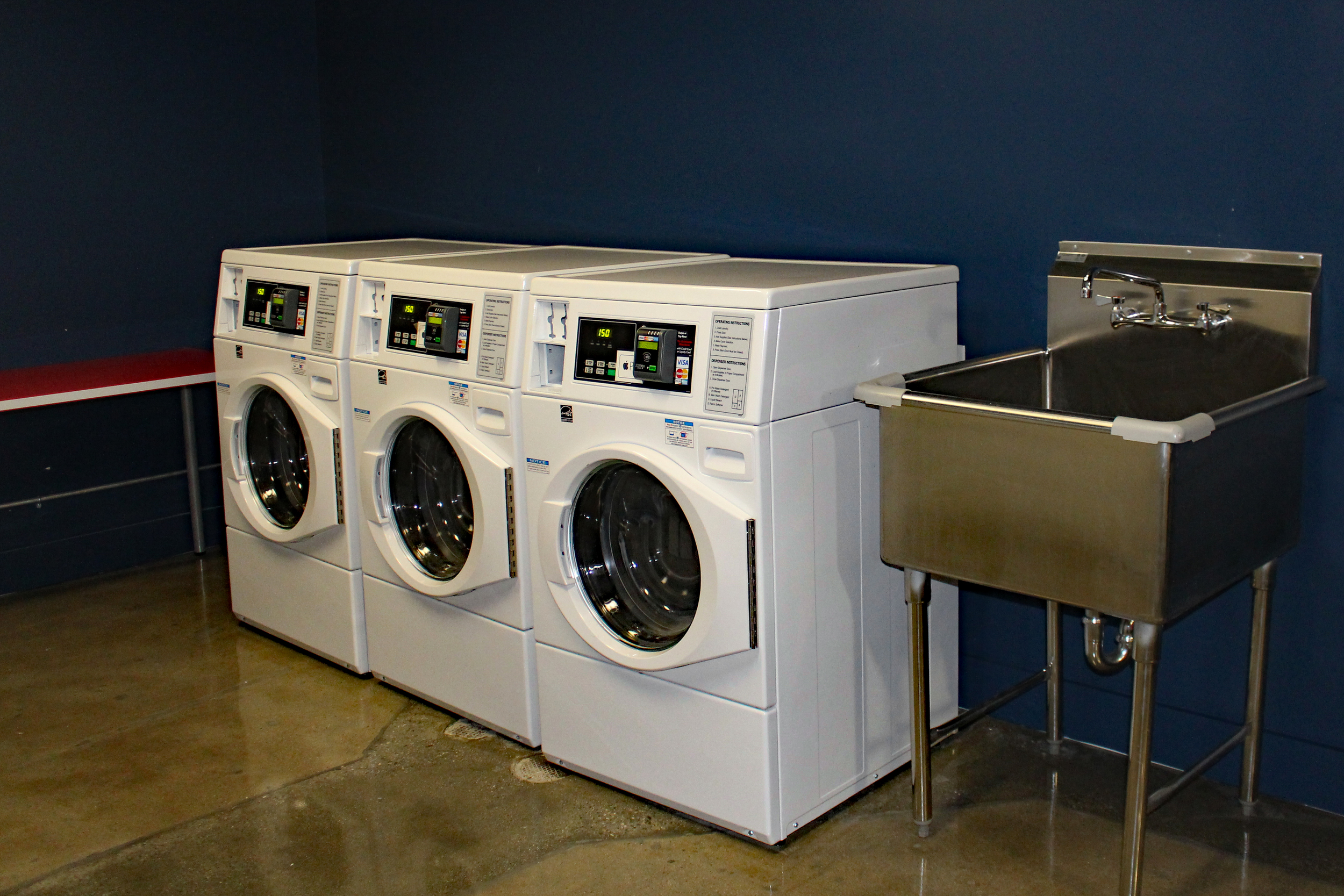 Garment Lofts Laundry Facilities
