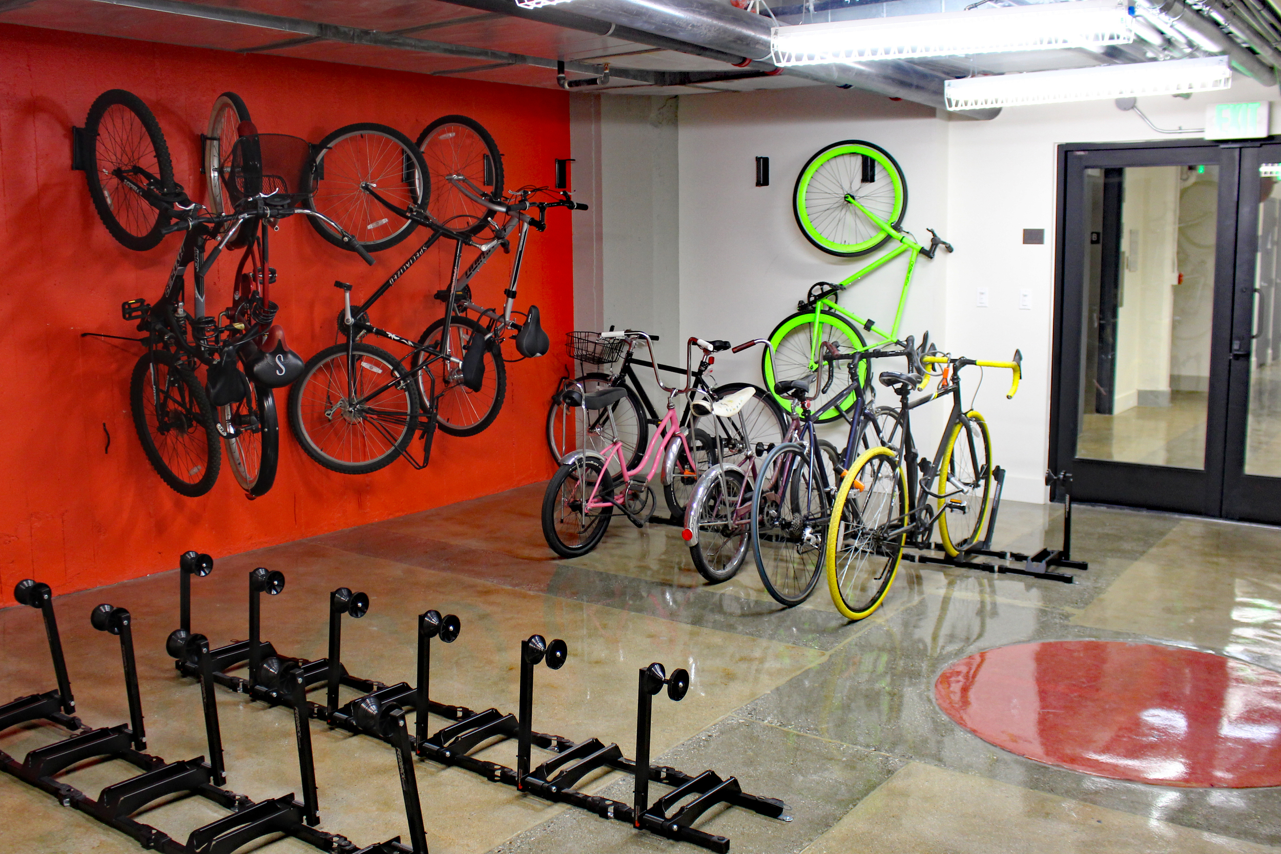 Bicycle Storage at Garment Lofts