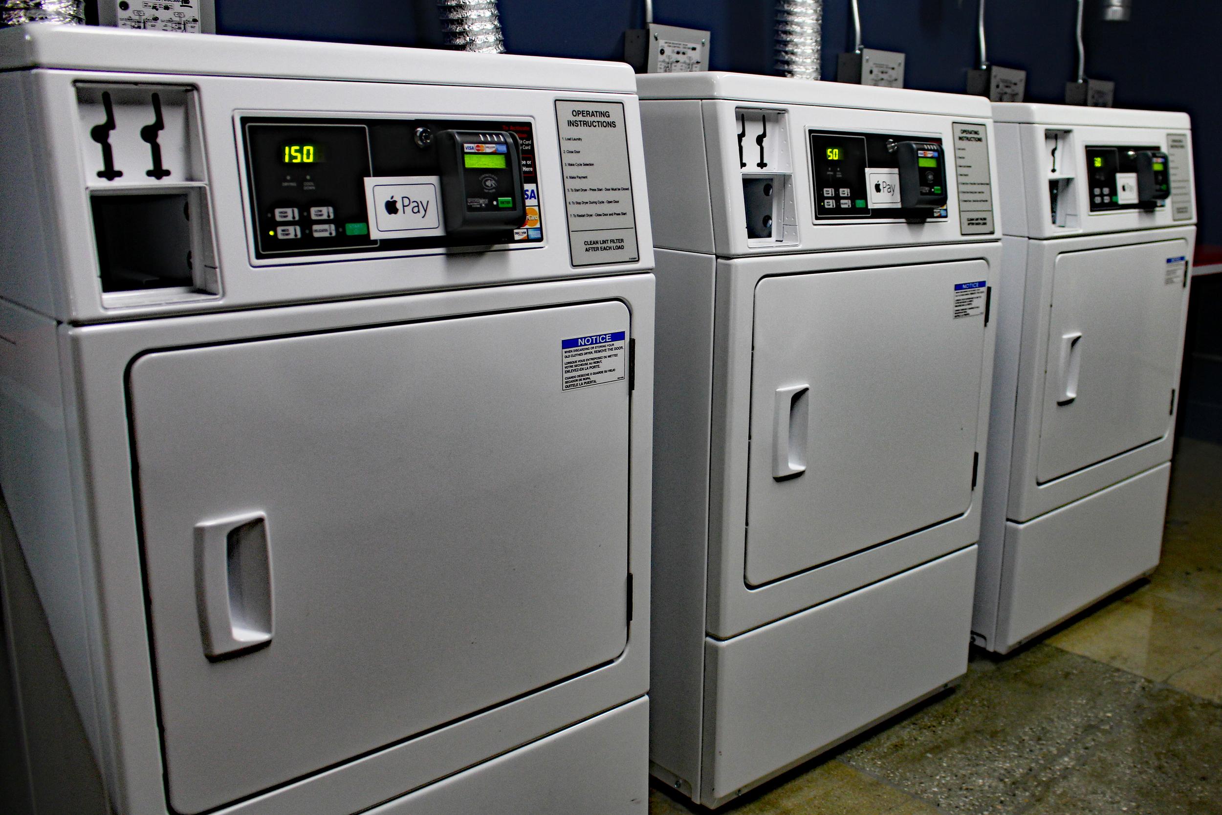 Washers at Garment Lofts
