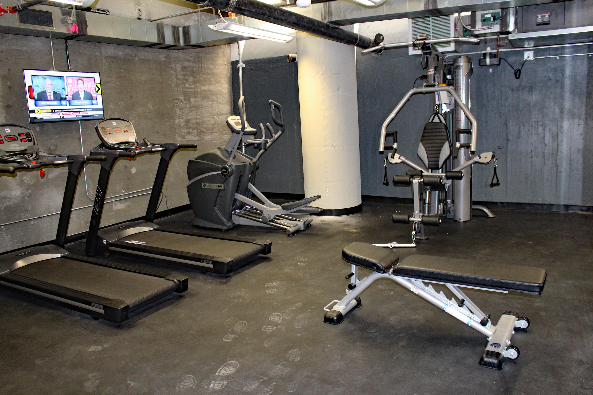 Garment Lofts Fitness Center