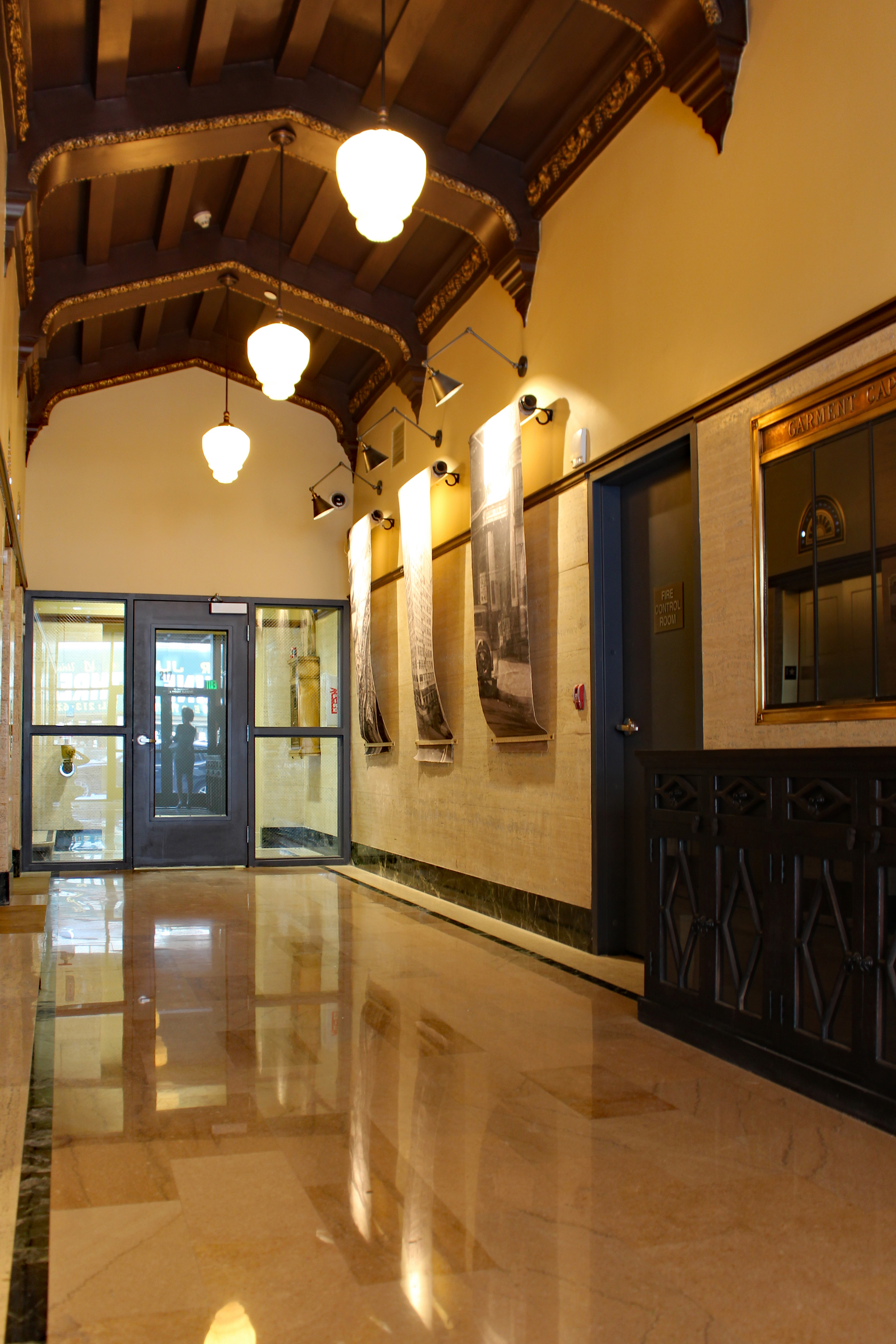 Entrance Hallway at Garment Lofts