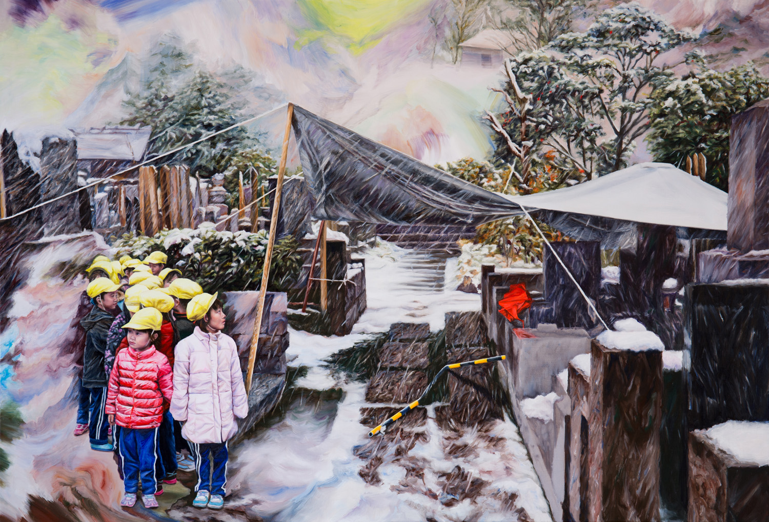 Kevin Chin wins the 2018 Albany Art Prize WA with the painting, Sheltered