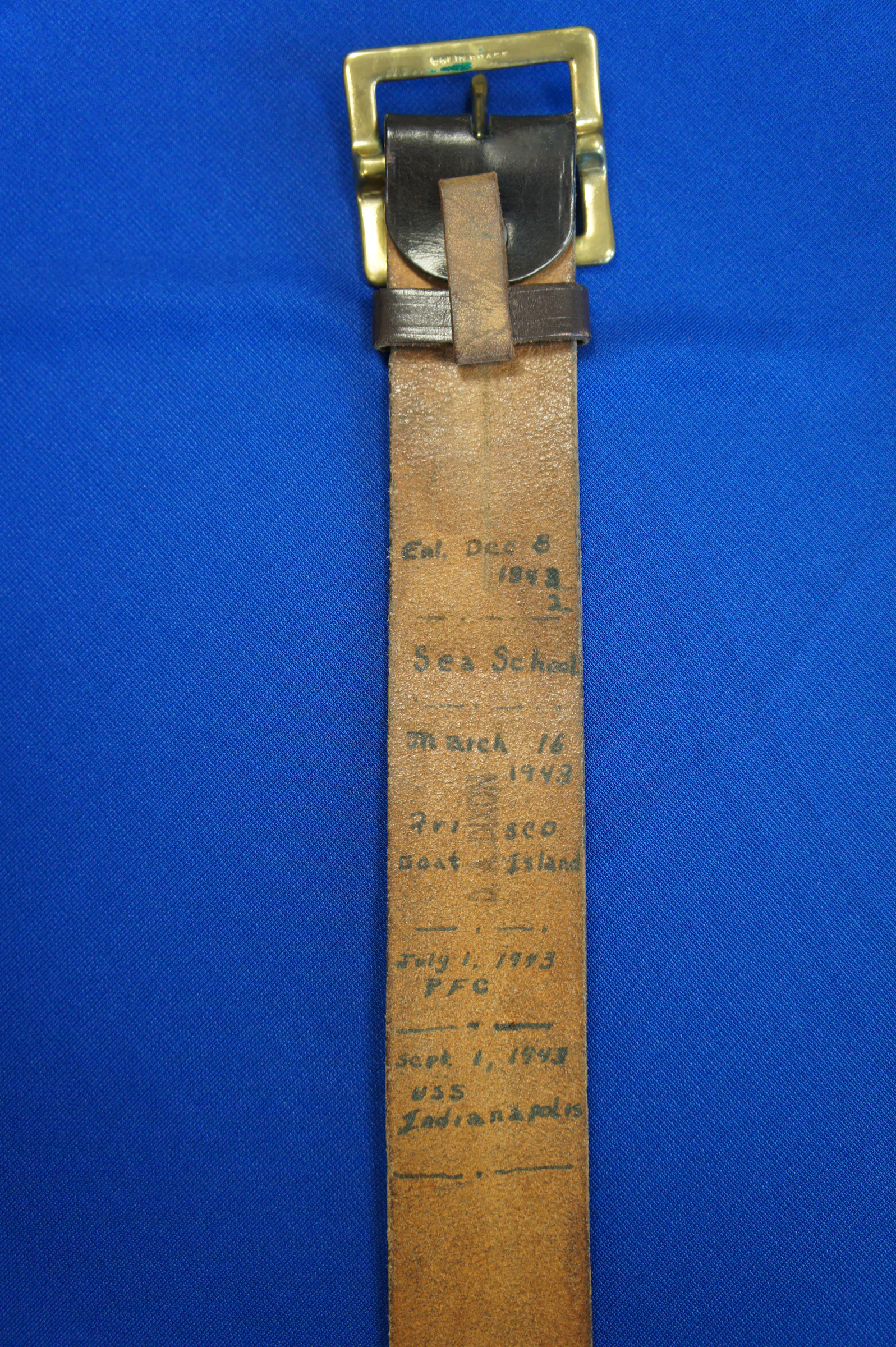 USS Indianapolis Belt