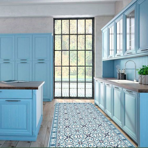 alfombra-vinilica-cocina-azul