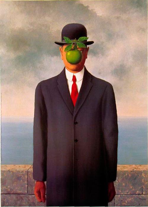 Cuadro Le Fils de l´Homme. René Magritte (1964)