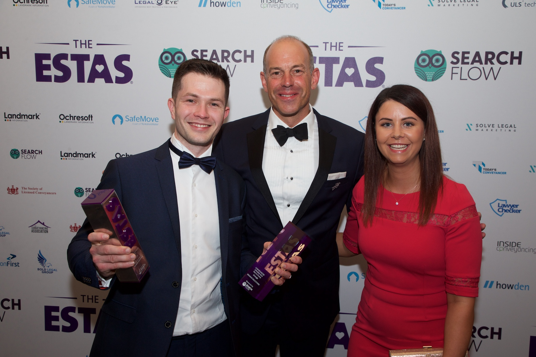 awards ceremony winners with phil spencer Grosvenor House Hotel in London graphic design tunbridge wells crowborough beth cook design
