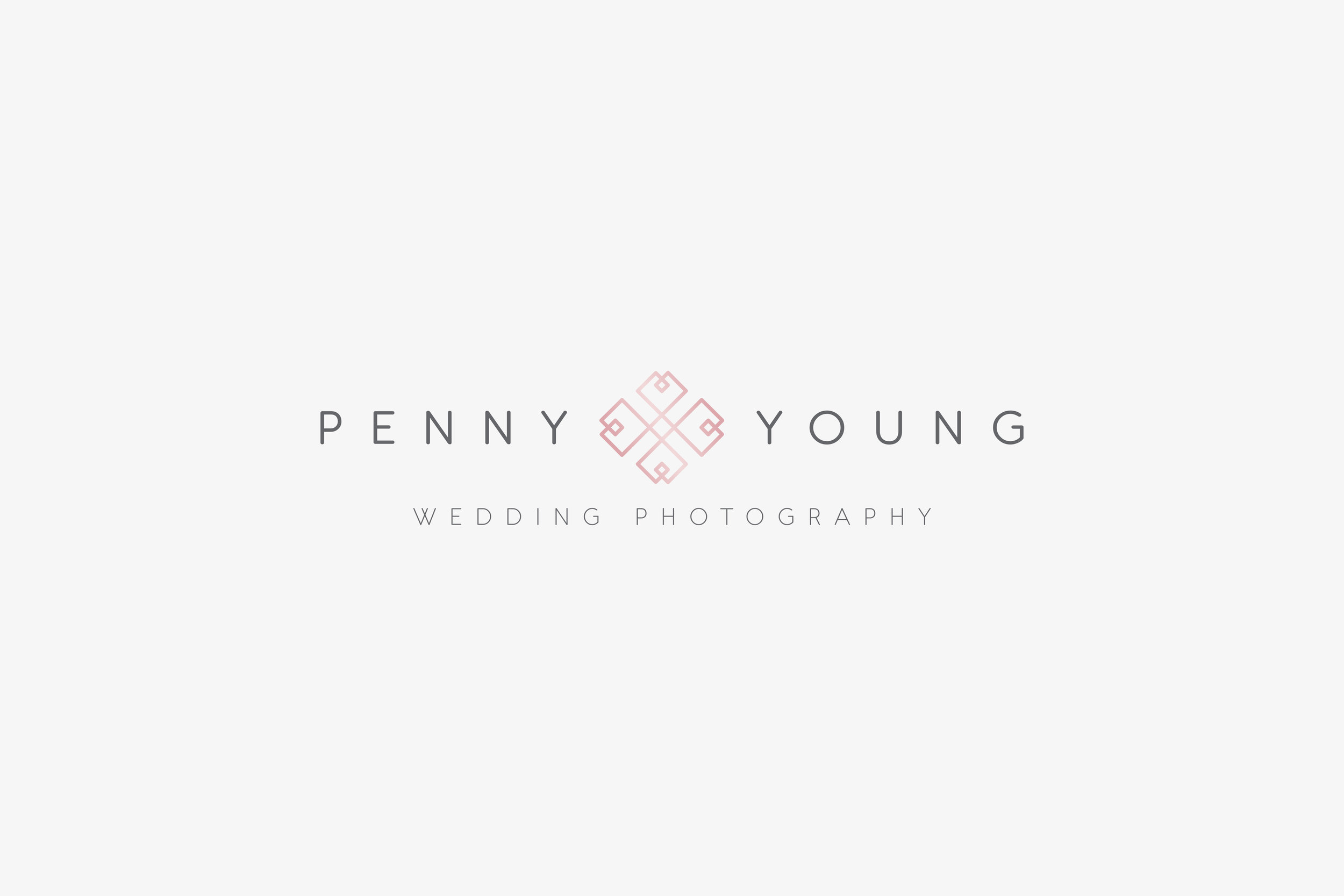 Logo Design agency for Penny Young, Wedding Photographer, based in Tonbridge, Kent