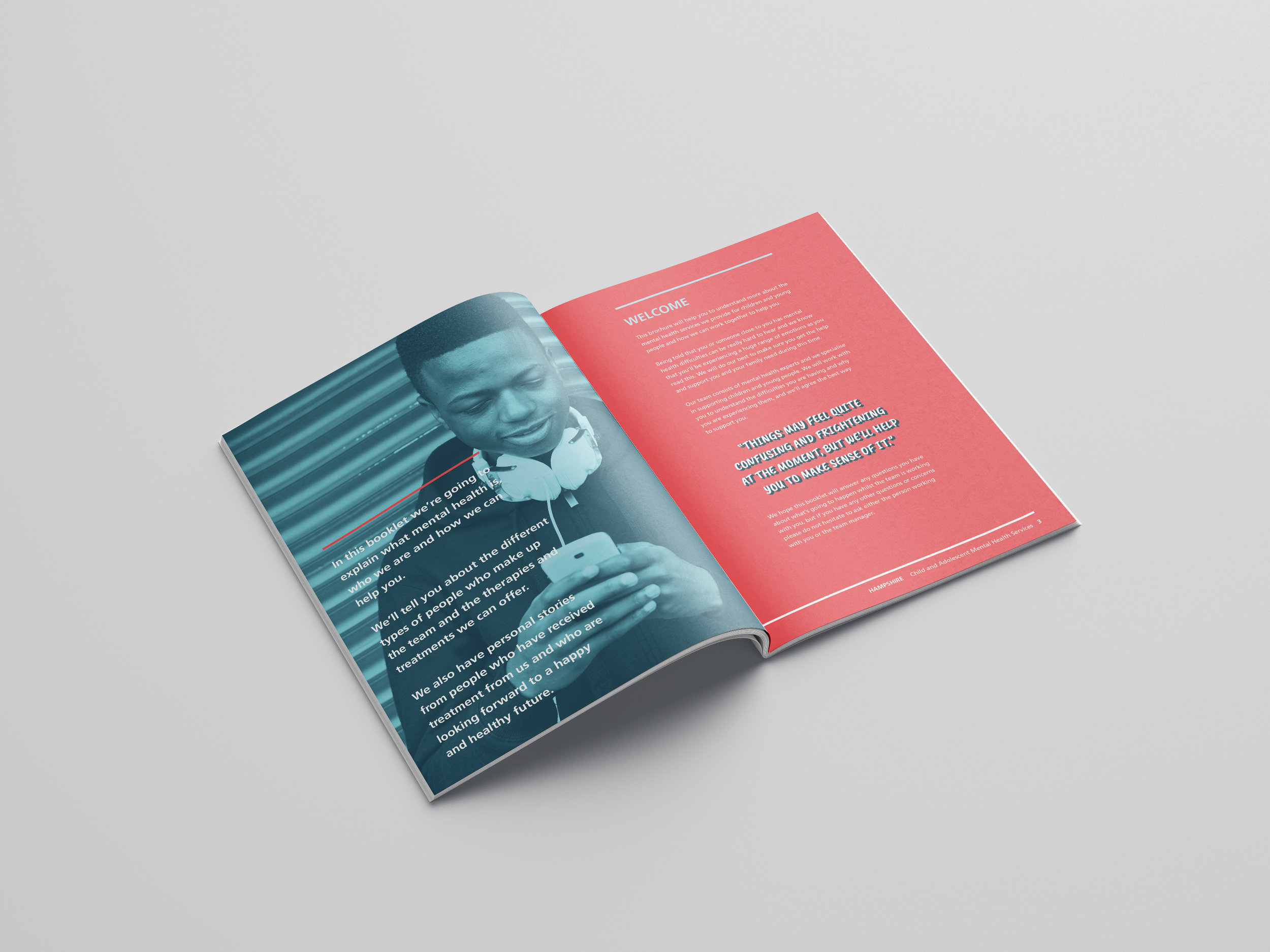 East Sussex Creative Agency NHS Leaflet Design