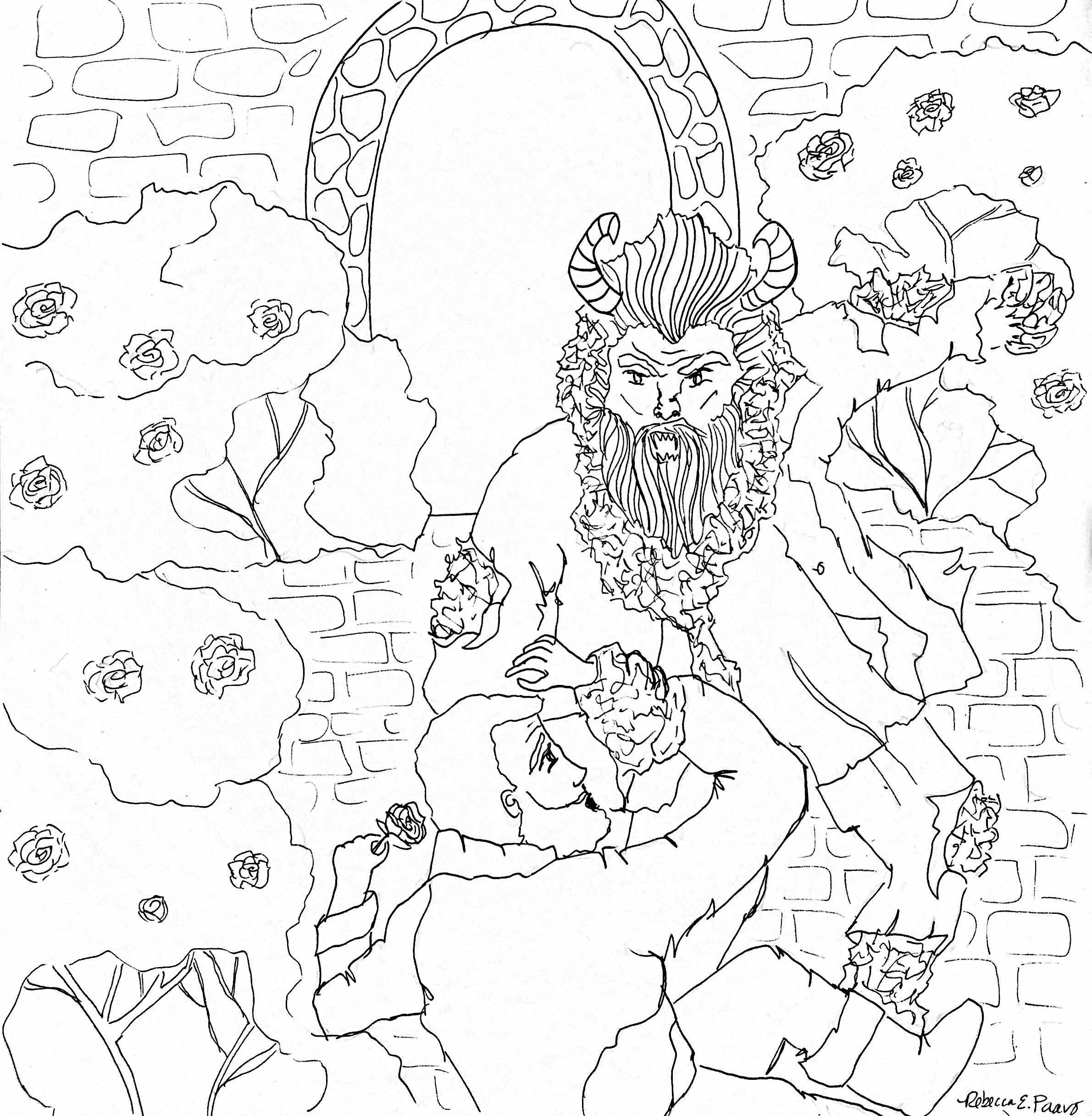 coloring beast.JPG