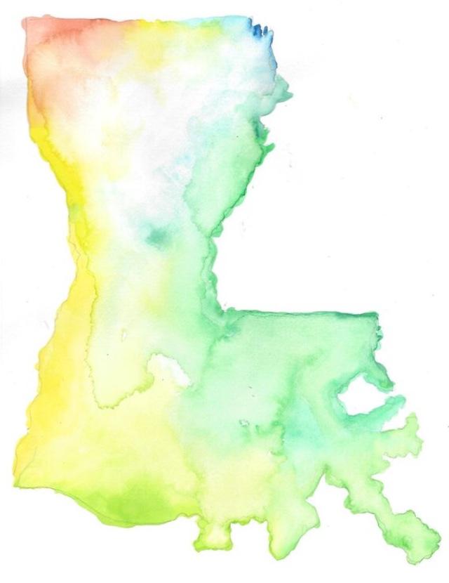 Louisiana Watercolor