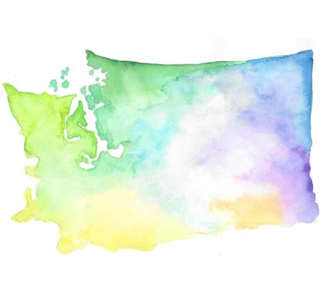 Washington Watercolor