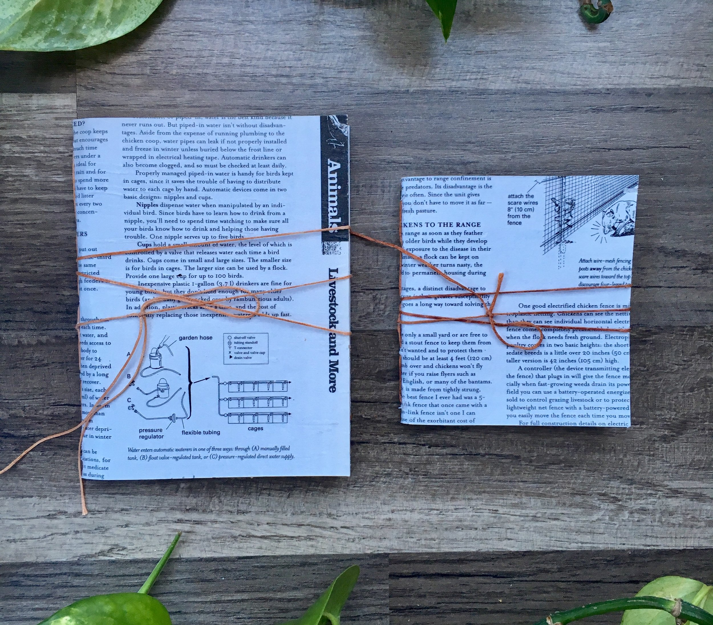 Recycled Country Life Journals