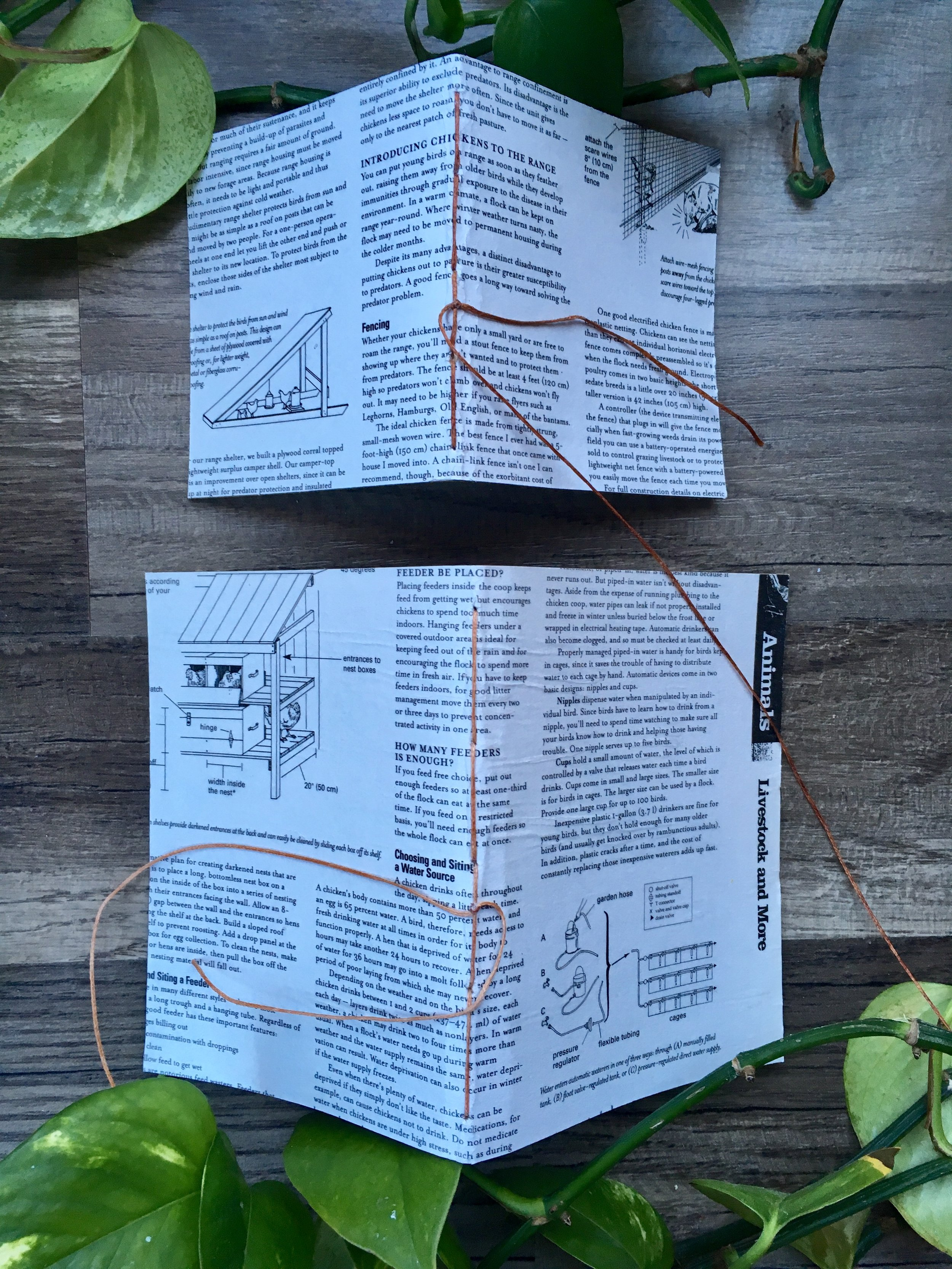 Recycled Country Living Journals