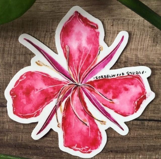 "3""  Fireweed Blossom"