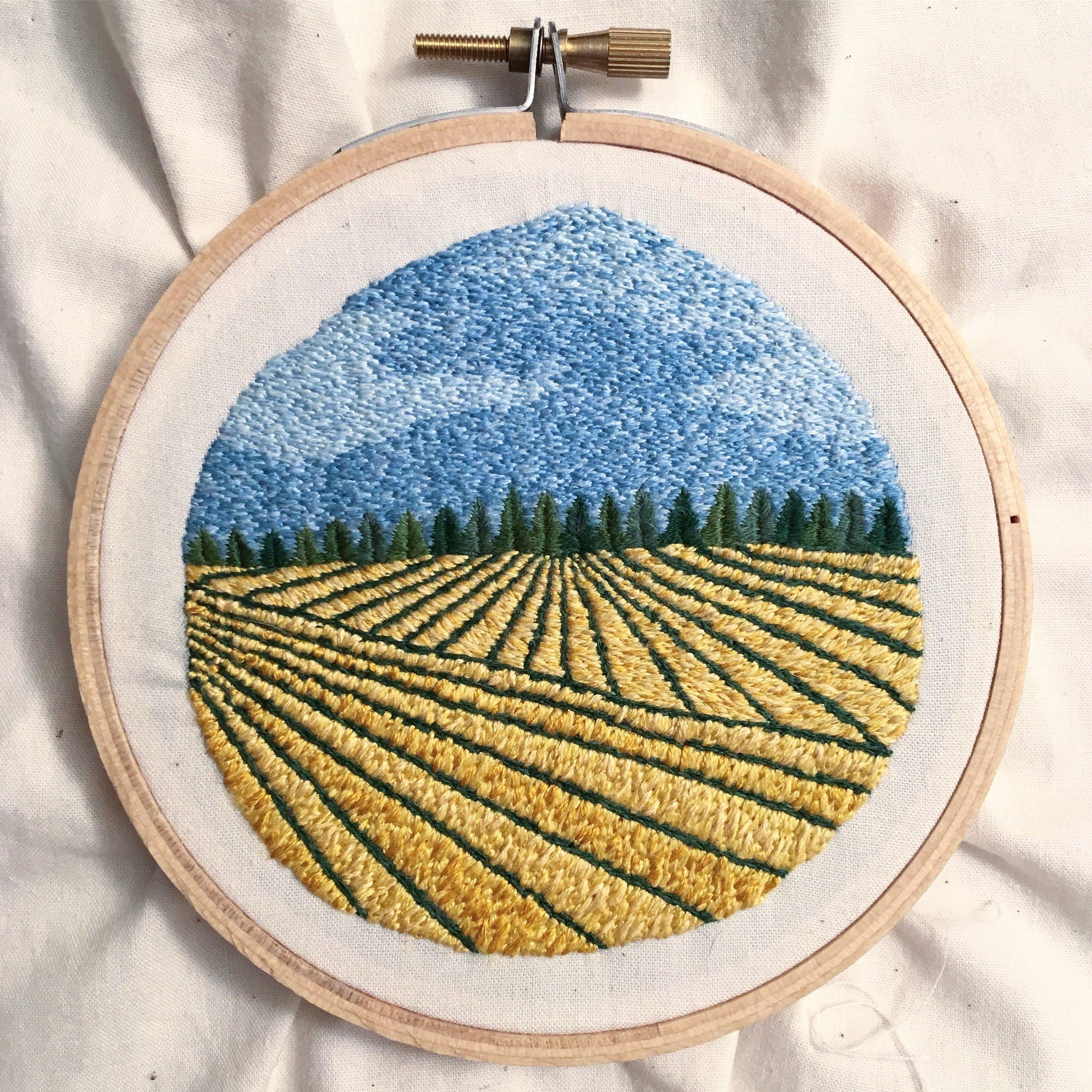 Oregon Fields