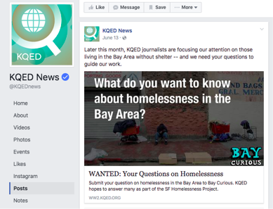 KQED Gathered 1,300+ Questions About Homelessness - When KQED asked for listeners' questions about homelessness, the response was overwhelming. Here's how they handled it.