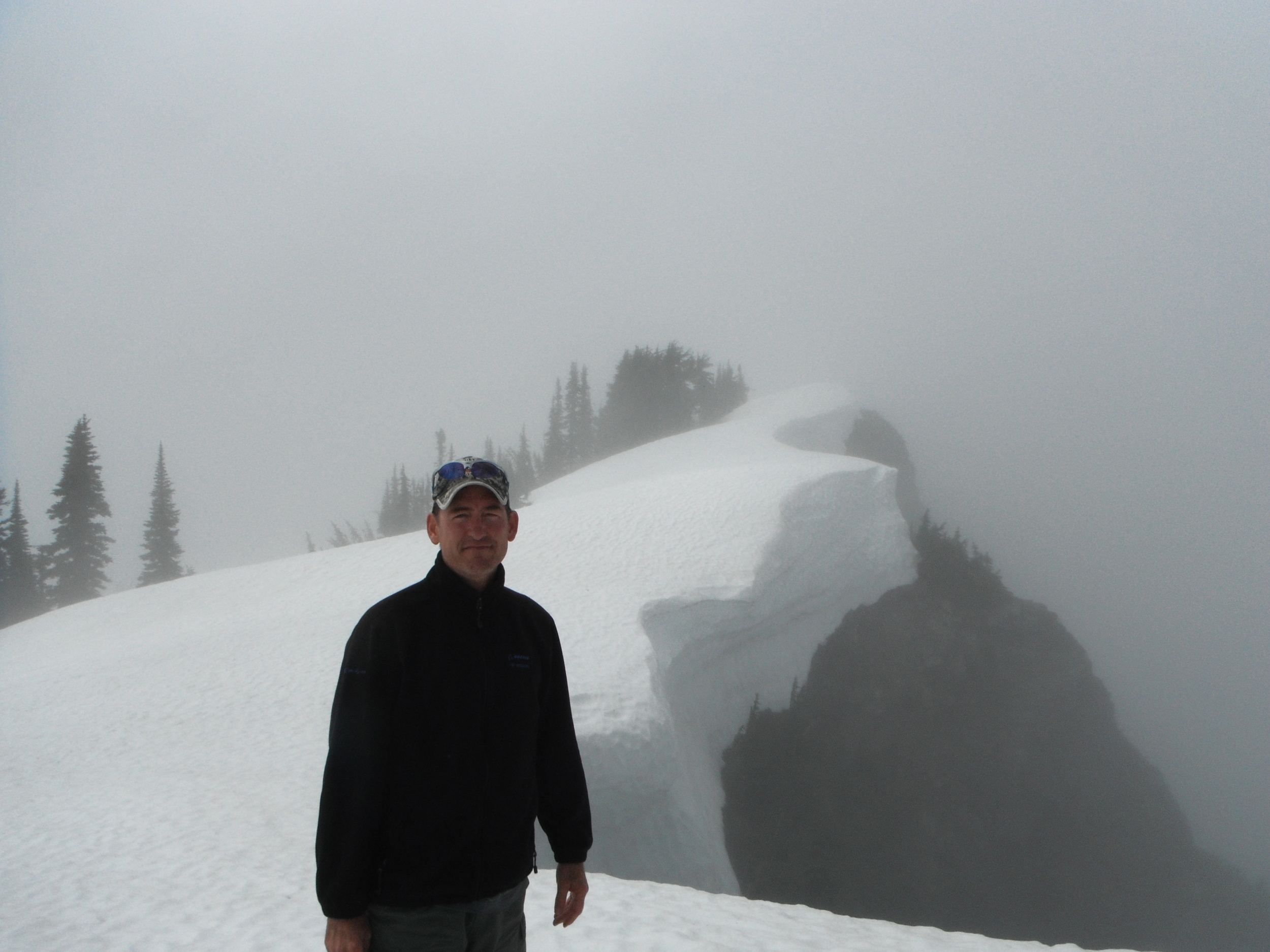 On top of Mount Dickerman