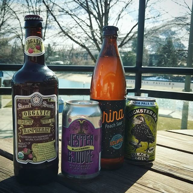 It's officially patio season and we have new wares! Including but not limited to raspberry and blackberry ciders, peach sour beer and IPA, come check it out!