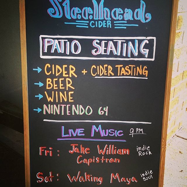 We're throwing a double dose of live music at you this weekend! Today and tomorrow at 9pm join us for Jake Capistran followed by @WakingMaya on Saturday. We have lots of new options on tap, come check us out this weekend!