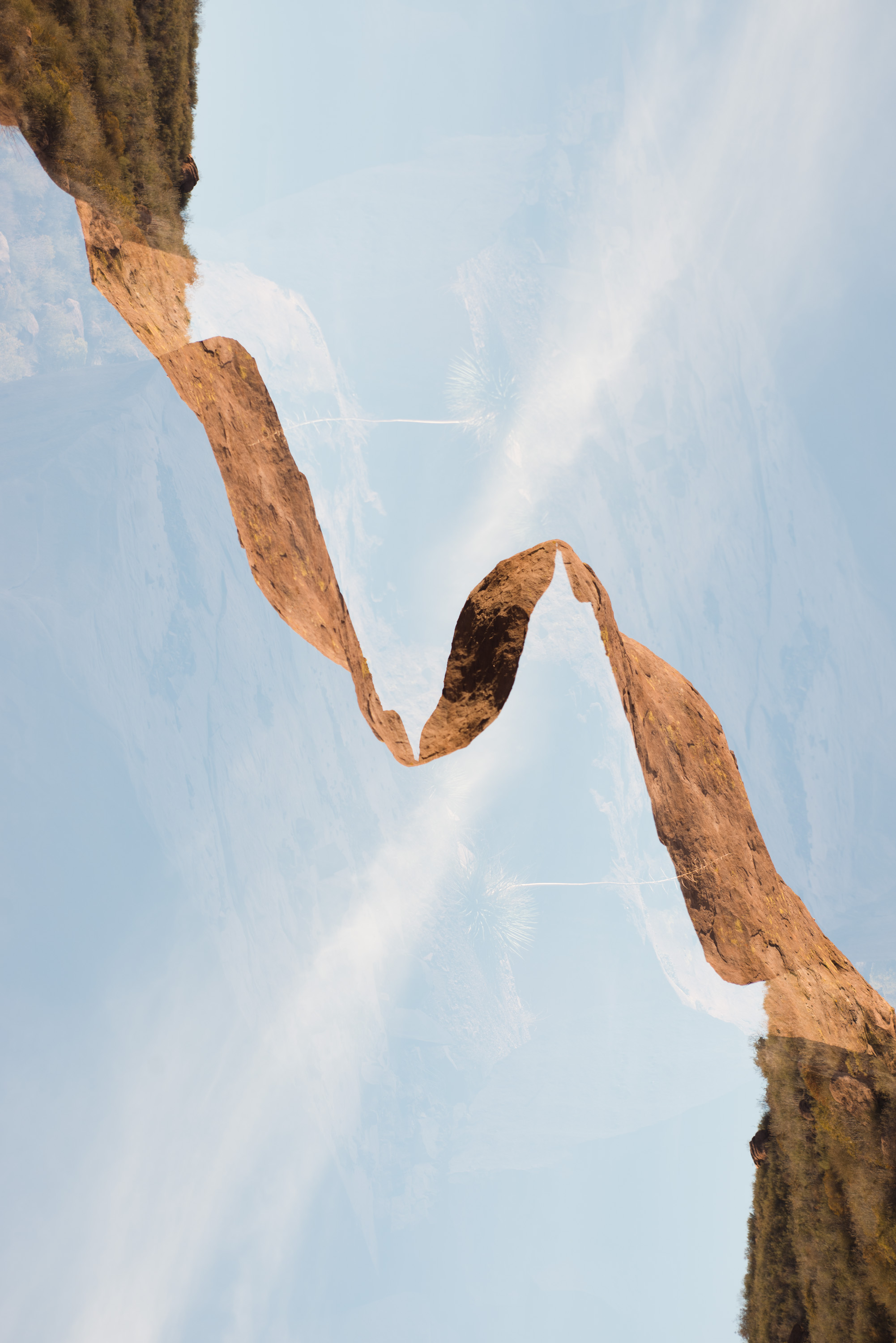 Rock Ribbon , 2013 Archival Pigment Print 30 x 20 inches