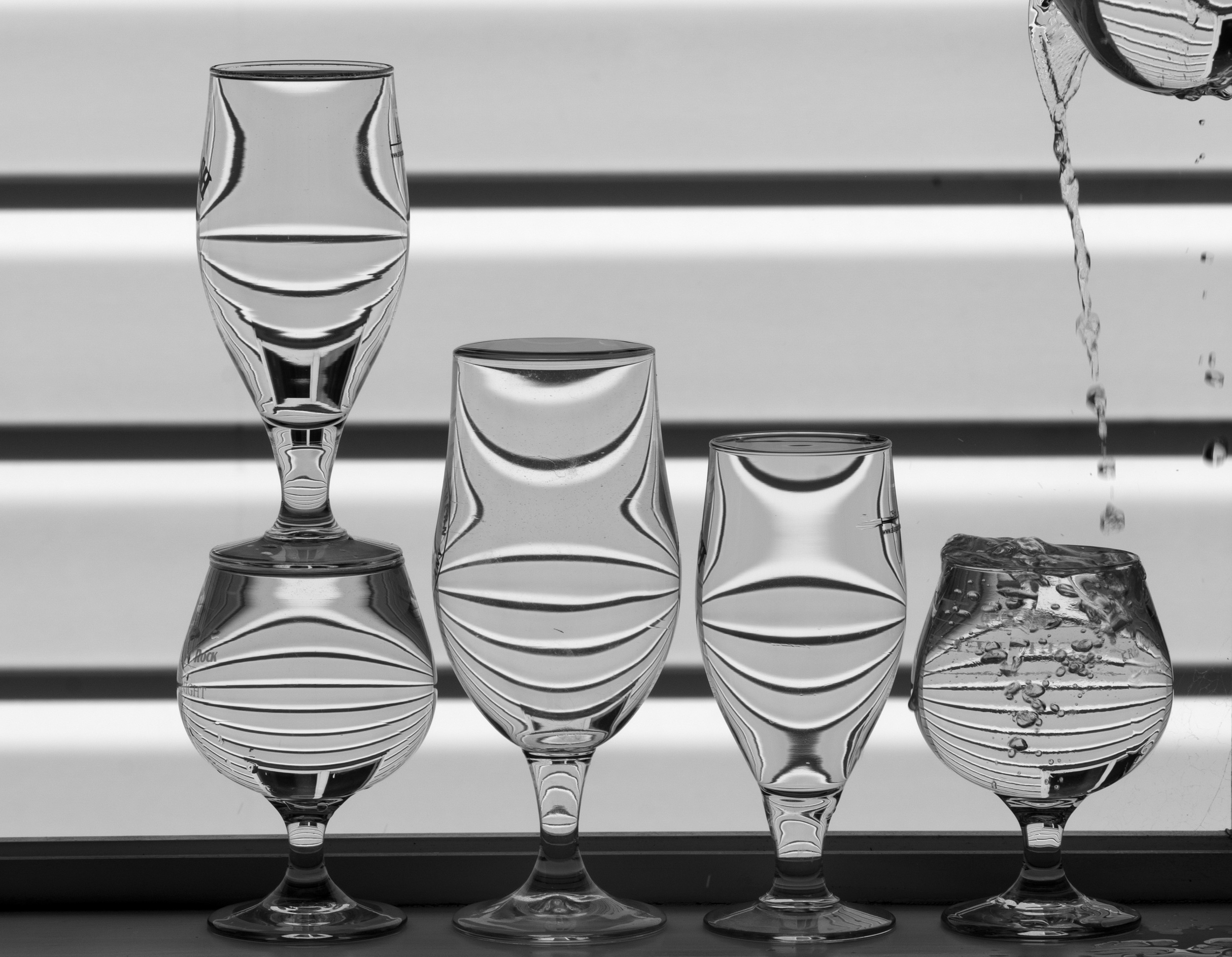 Refraction Study II, 2012 Archival pigment print 14 x 18 inches