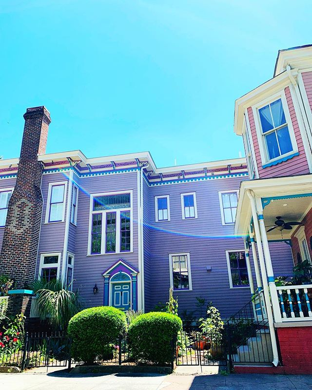 My version of Oz - all the candy colored dream houses 🍭🍬💜💕