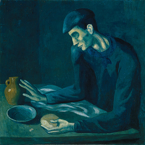 The Blind Man's Meal Pablo Picasso