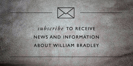 Join the William Bradley mailing list today & save 15%