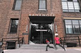 Bronx New York BankNote Building Lafayette Wing Entrance