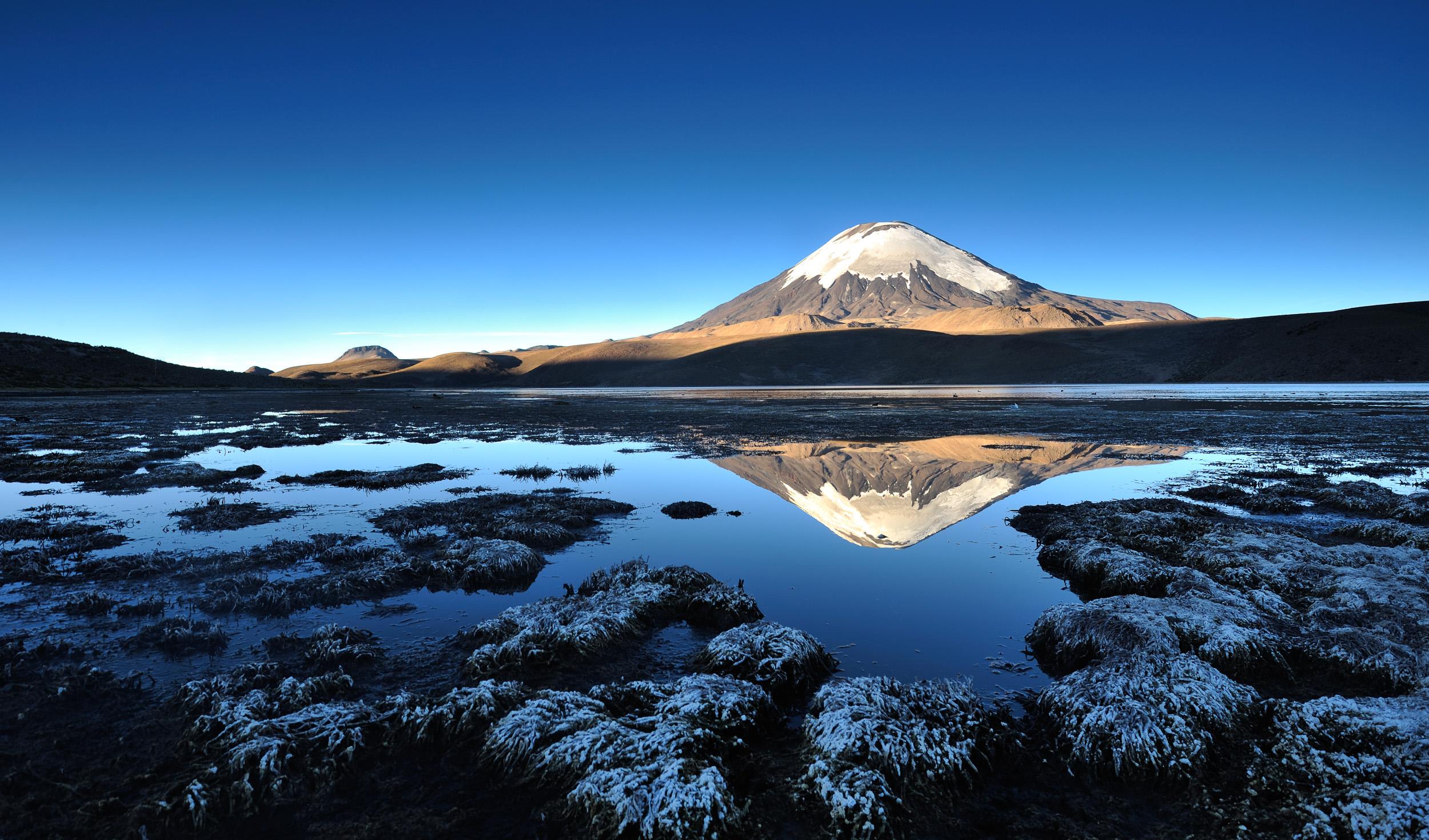 South America   Chile, Bolivia and Peru.