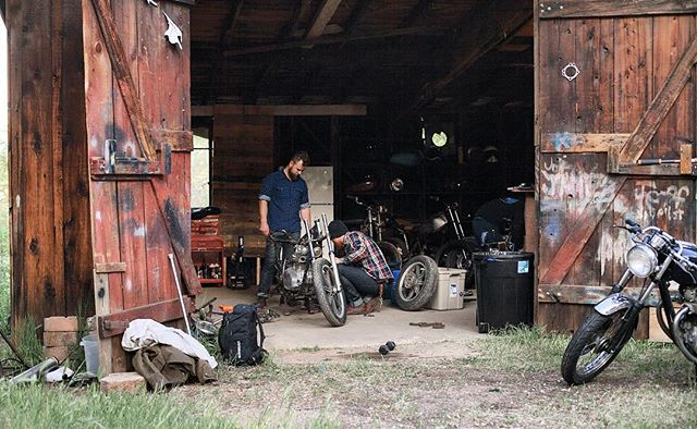 The original shred shed @wrenchandride