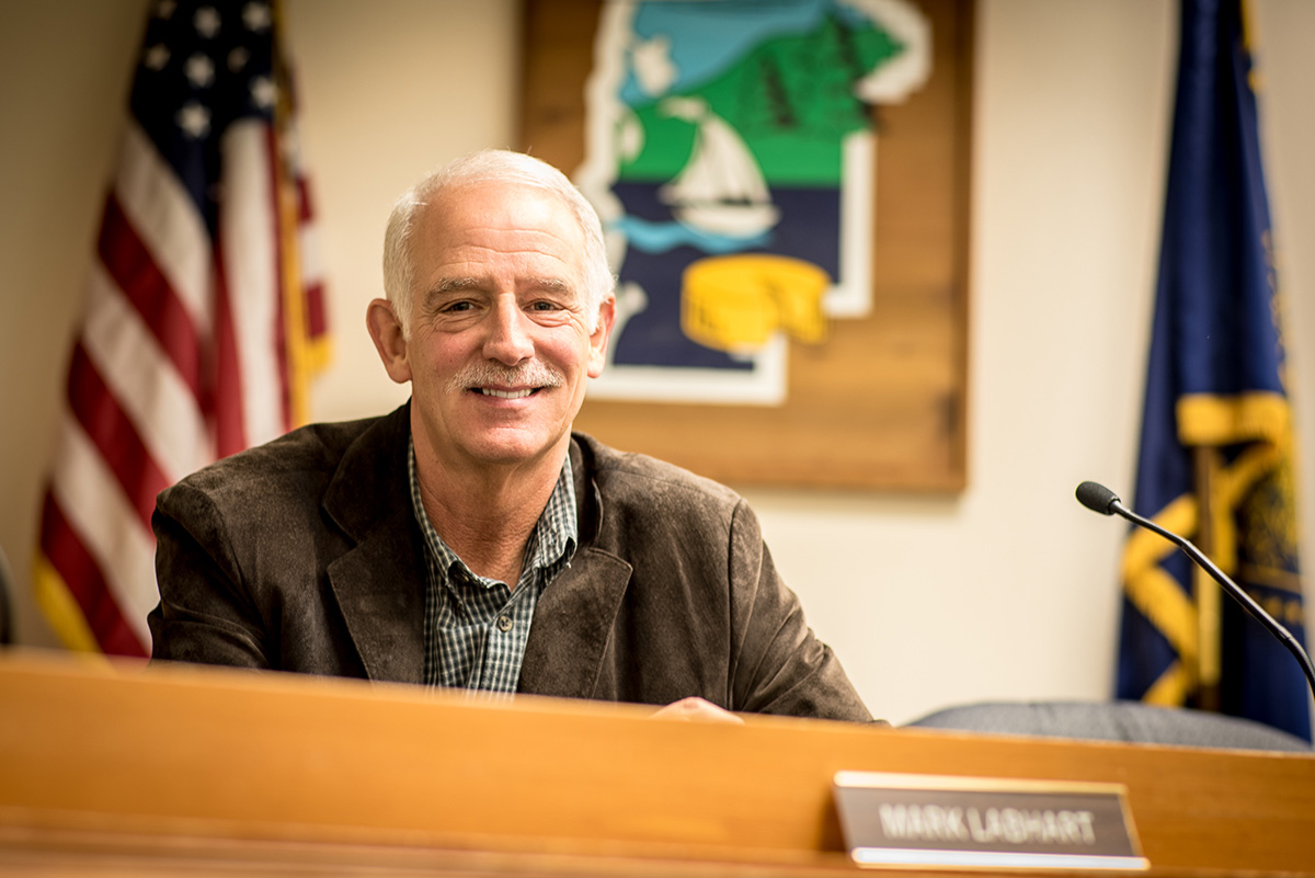 Tillamook County Commissioner Mark Labhart