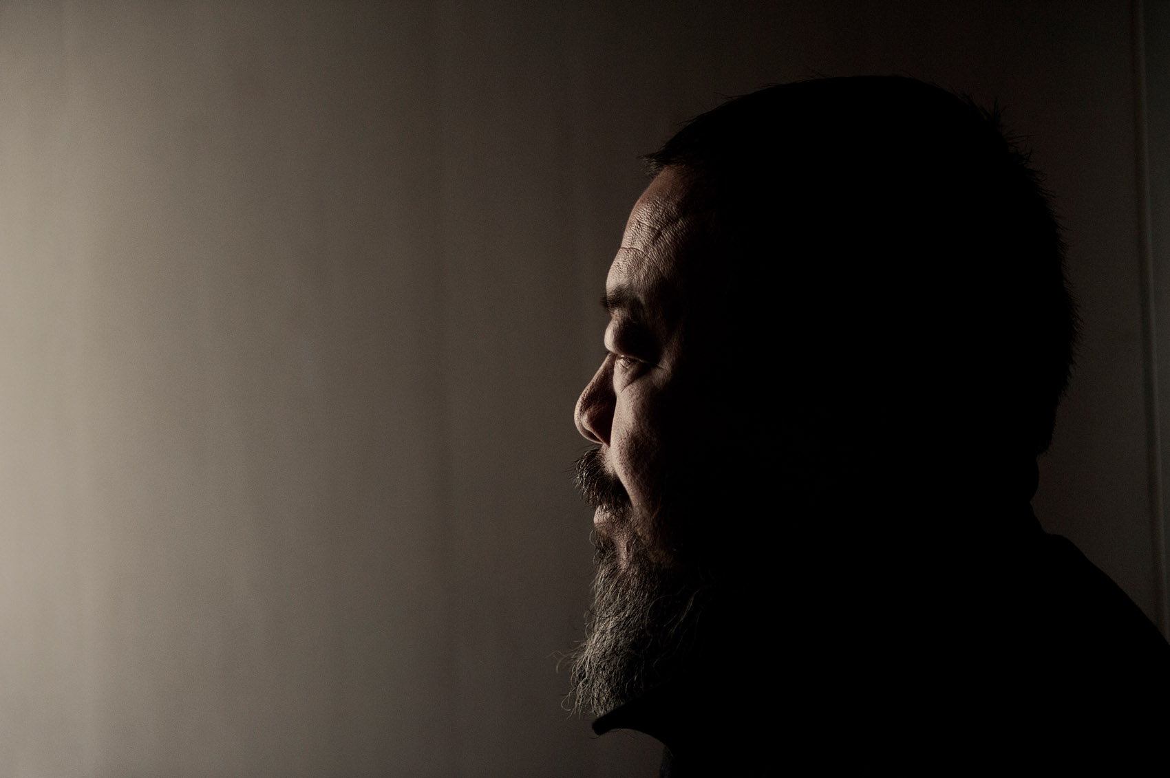 Ai Wei Wei, artist and dissident a few weeks after his release from illegal detention.