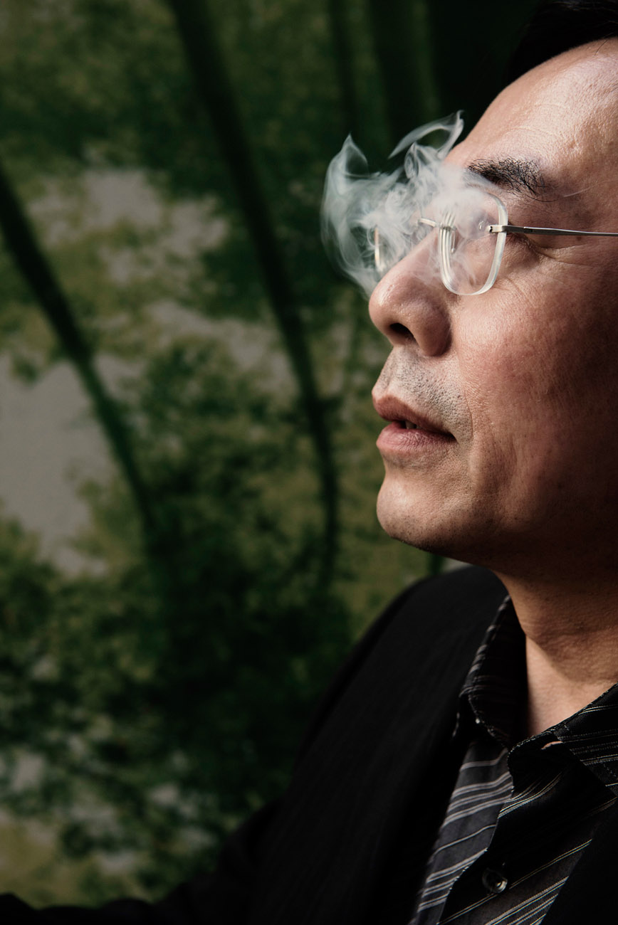 Hon Lik, Chinese inventor of the electronic cigarette.