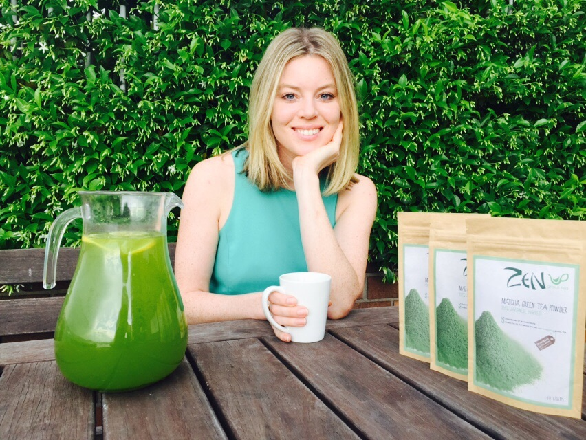 Erin Young created Zen Green Tea from her passion for health, yoga and food (Image via Erin Young).