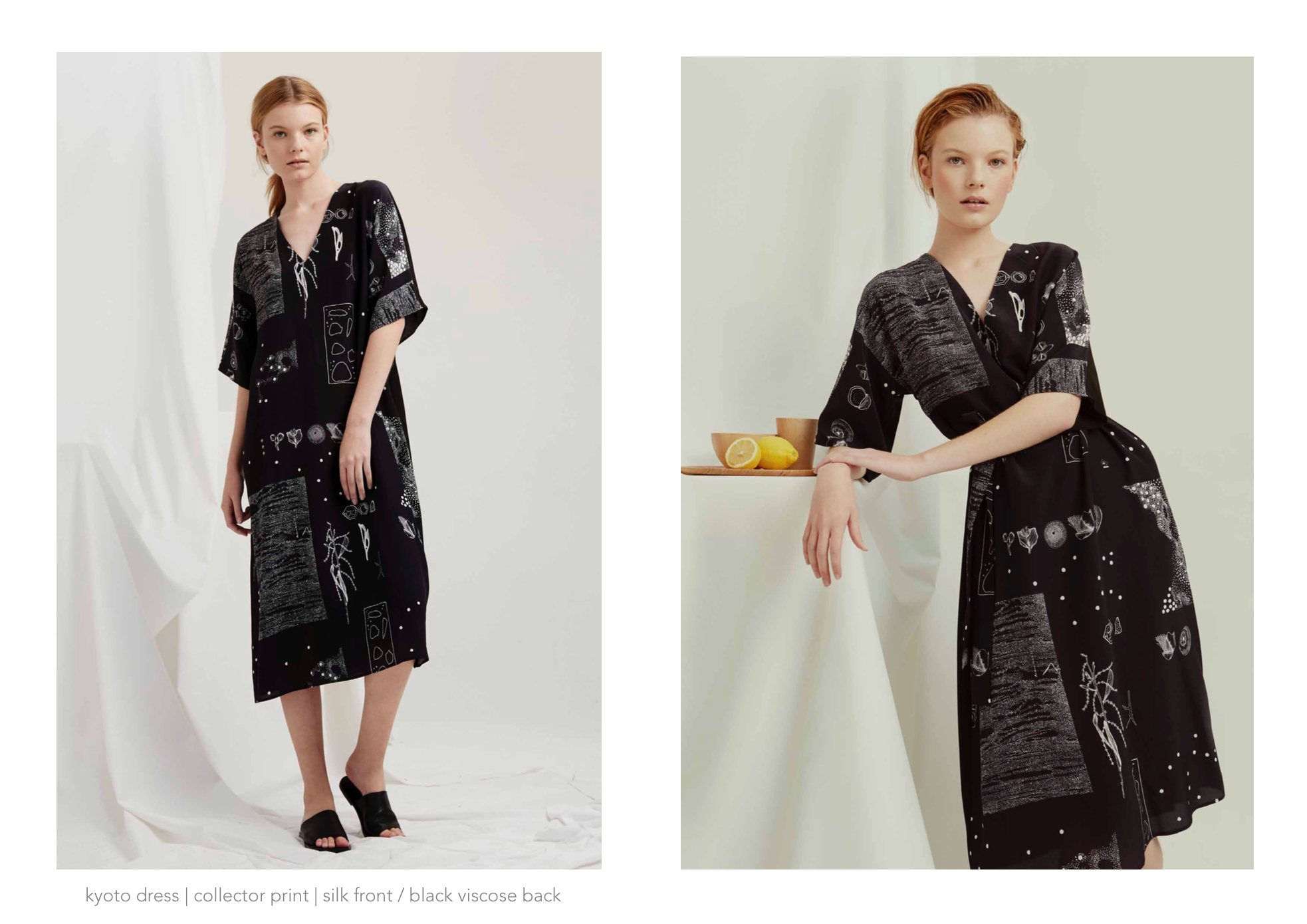 Milk and Thistle Kyoto Dress : Collector print