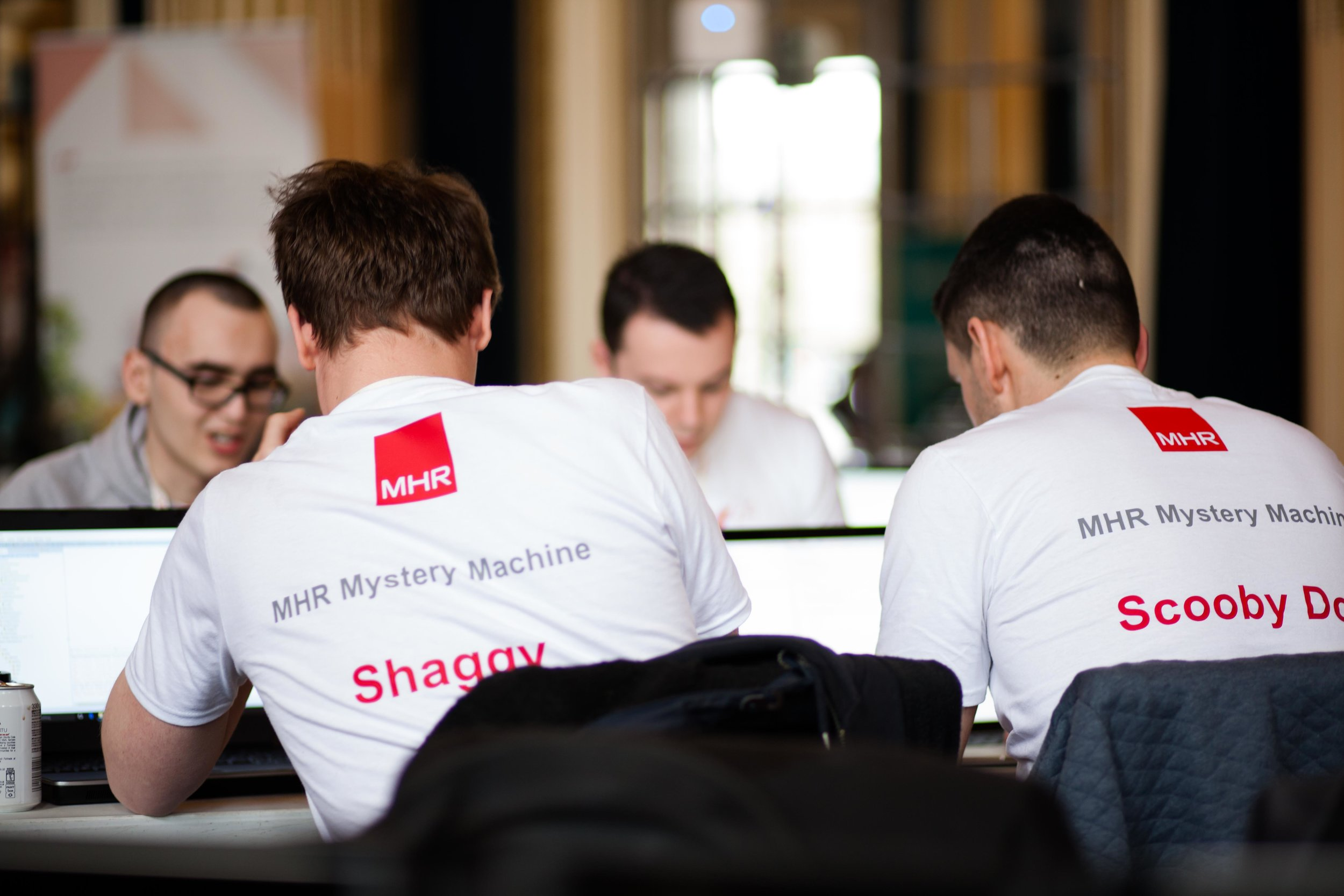 One of the MHR hacking teams!