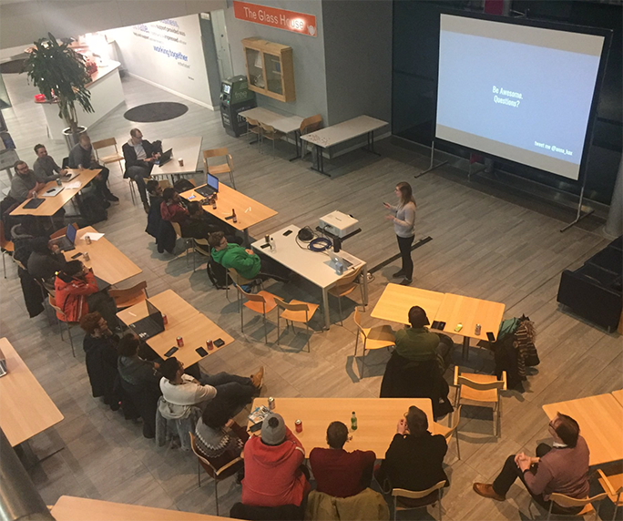 Experian sponsored student event in partnership with Tech Nottingham
