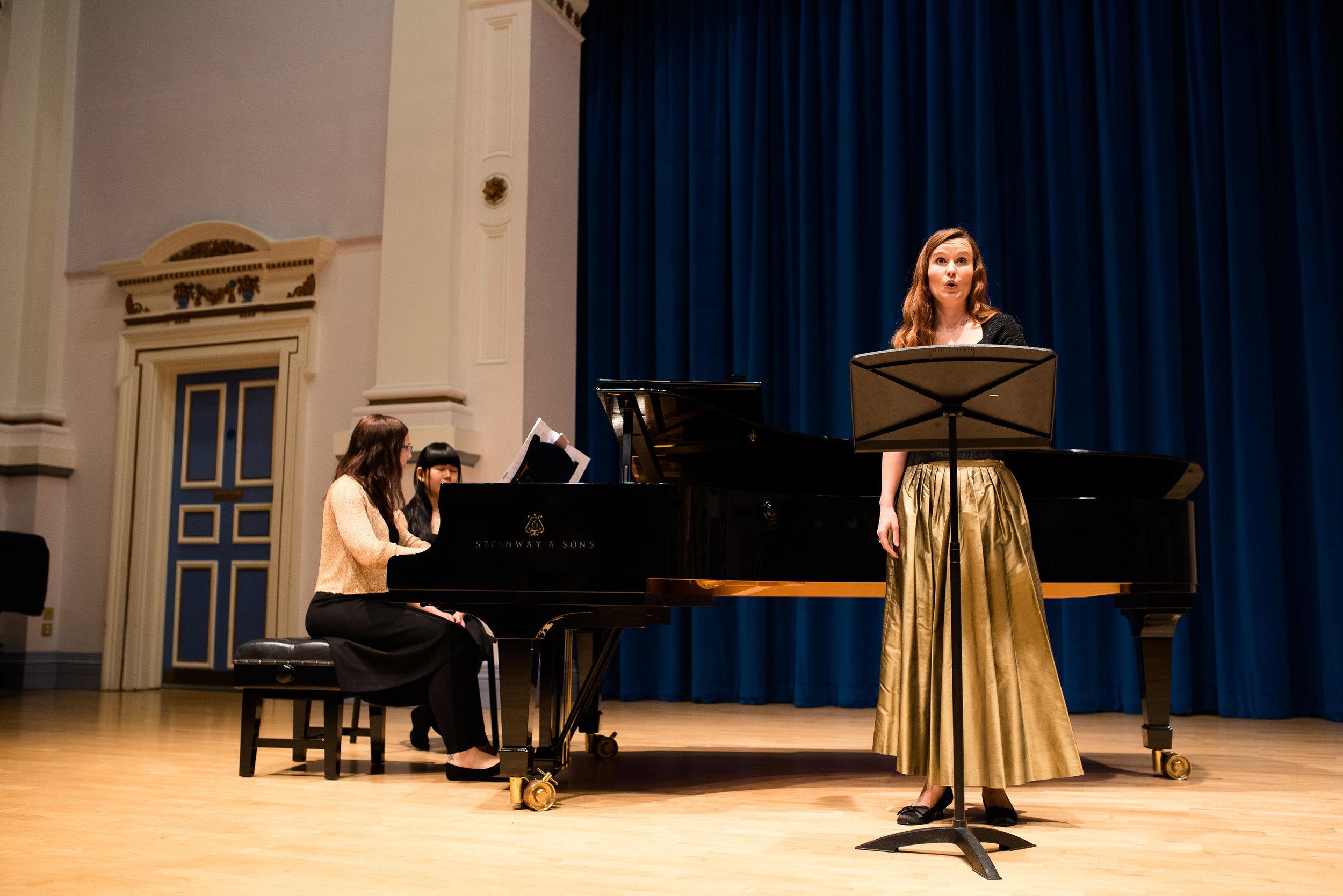 Siân Cameron and Nicola Rose perform  Woolf Letters,  Leeds 2016