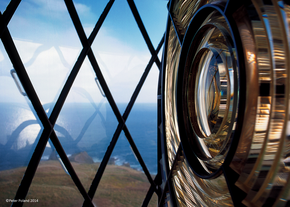 Lens of the Lizard Lighthouse